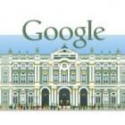 Google-Doodle - Doodling met Google-logo op de startpagina