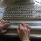 Brailleleesregel voor (zwaar) slechtzienden en blinden