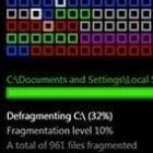 Automatisch defragmenteren met Disk Defrag Screen Saver