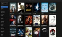 De interface van Popcorn TIme