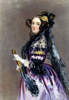 Ada Lovelace / Bron: Alfred Edward Chalon, Wikimedia Commons (Publiek domein)