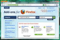 Mozilla Firefox 4 Browser.